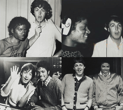 Image result for paul mccartney michael jackson writing