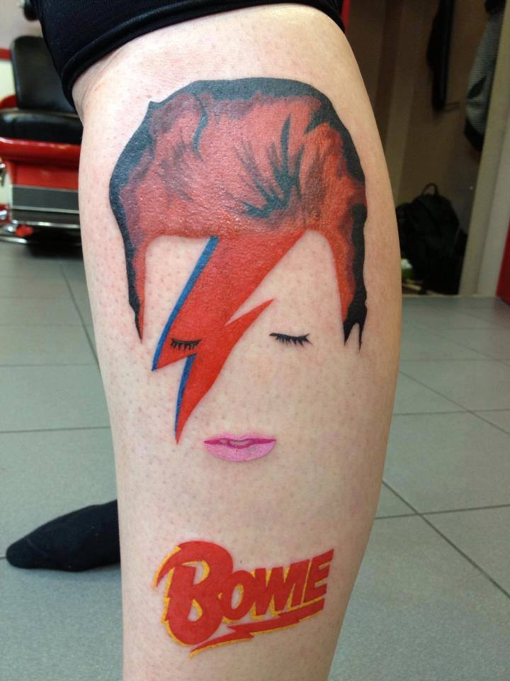 You love david bowie get a tattoo sonic more music for Bowie tattoo ideas