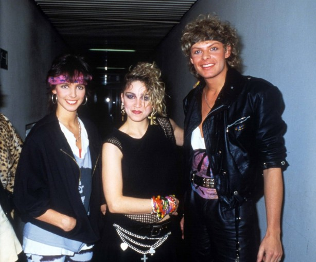 Eurotops (backstage) 01.03.84