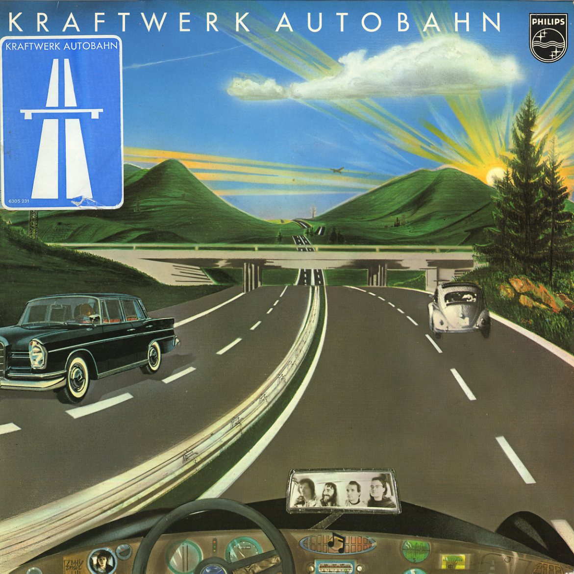Kraftwerk's fourth studio album 'Autobahn' was released on ...Kraftwerk Autobahn
