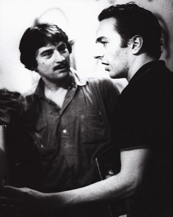 Classic Photo: Joe Strummer with Robert De Niro 1981 | Sonic More Music