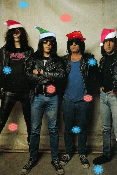 ramones merry christmas i don't want to fight