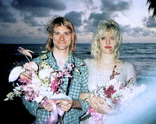 On This Day in 1992 Kurt Cobain married Courtney Love, read their ...