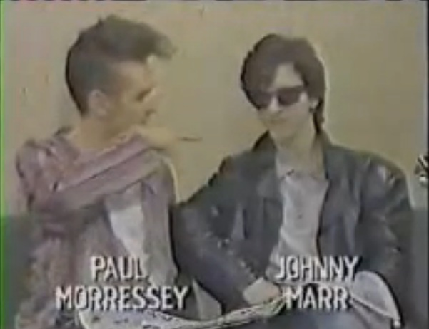 watch the smiths morrissey and johnny marr being