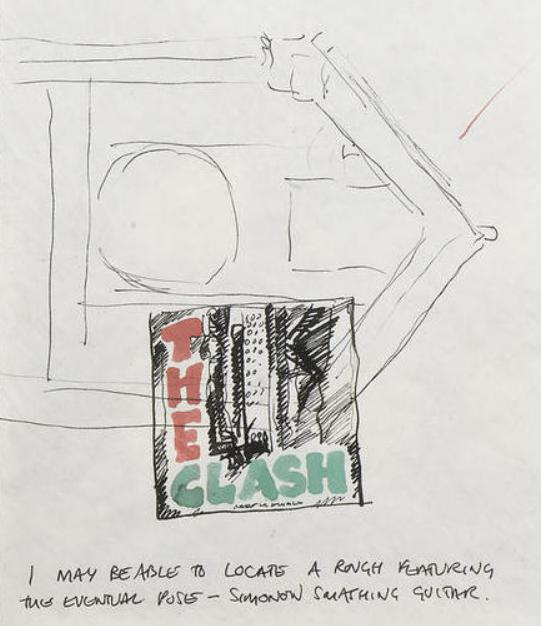 Check out the original album cover artwork for The Clash's 'London Calling'  | Sonic More Music