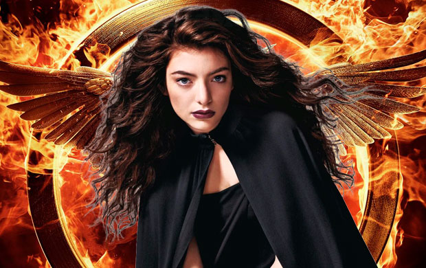 lorde, hunger games, yellow flicker beat