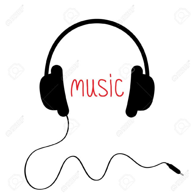 25200661-Black-headphones-with-cord-and-red-word-Music-Card-Vector-illustration--Stock-Vector