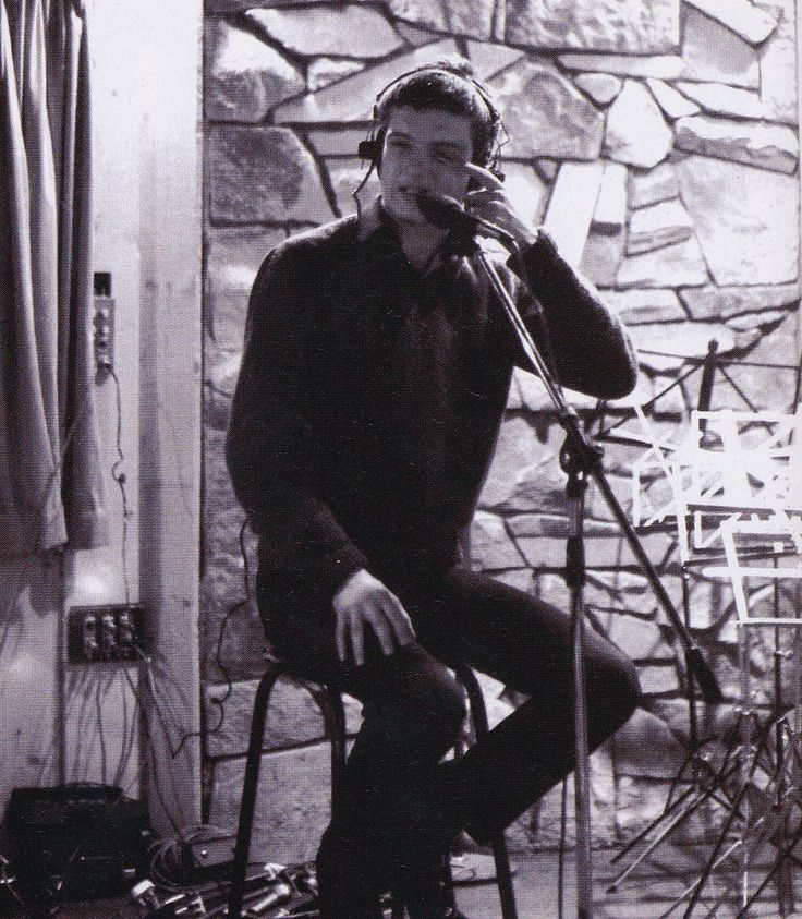 Ian Curtis In The Studio Recording Love Will Tear Us Apart