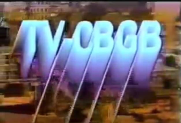 tv cbgb