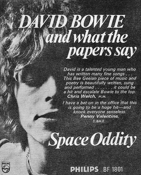 David Bowie Vintage Ad