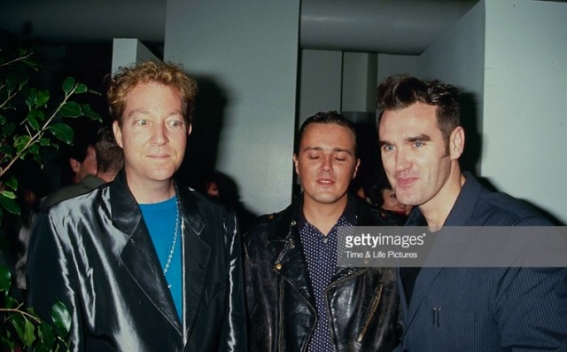 Fred Schneider, Curt Smith, Morrissey, circa 1990. Photo by The LIFE Picture Collection Getty Images